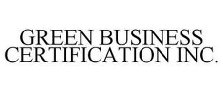 GREEN BUSINESS CERTIFICATION INC.