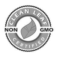 CLEAN LEAF NON GMO CERTIFIED