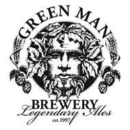 GREEN MAN BREWERY LEGENDARY ALES EST. 1997