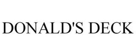 DONALD'S DECK