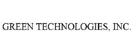 GREEN TECHNOLOGIES, INC.