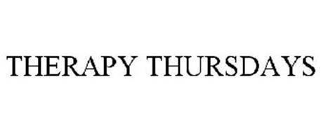 THERAPY THURSDAYS