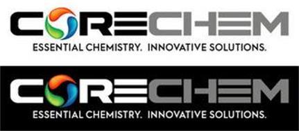 CORECHEM ESSENTIAL CHEMISTRY  INNOVATIVE SOLUTIONS  Trademark of