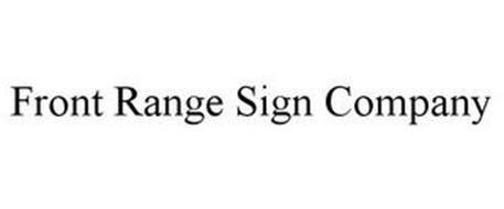 FRONT RANGE SIGN COMPANY