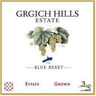 GRGICH HILLS ESTATE BLUE BERET ESTATE GROWN