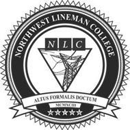 NORTHWEST LINEMAN COLLEGE NLC ALTUS FORMALIS DOCTUM MCMXCIII M H P D H