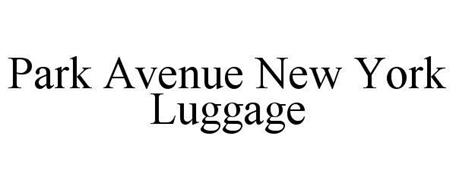 PARK AVENUE NEW YORK LUGGAGE