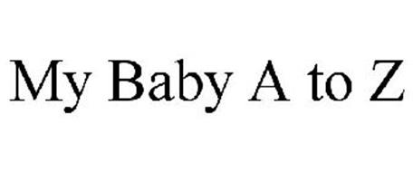 MY BABY A TO Z