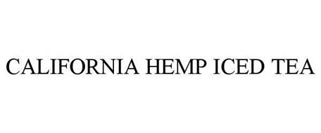 CALIFORNIA HEMP ICED TEA