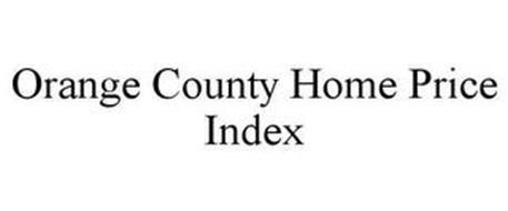ORANGE COUNTY HOME PRICE INDEX