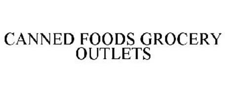CANNED FOODS GROCERY OUTLETS