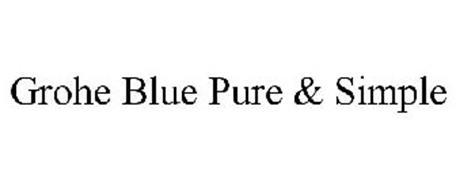 GROHE BLUE PURE & SIMPLE