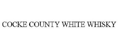 COCKE COUNTY WHITE WHISKY