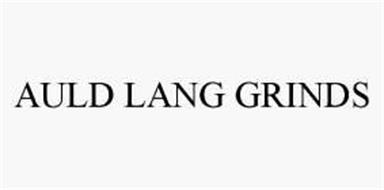 AULD LANG GRINDS