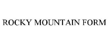 ROCKY MOUNTAIN FORM