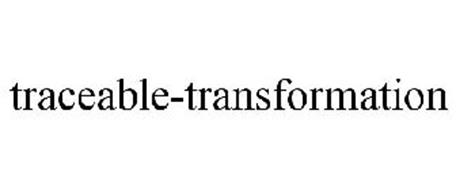 TRACEABLE-TRANSFORMATION