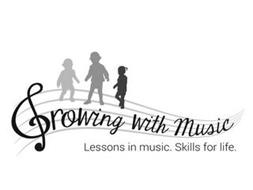 GROWING WITH MUSIC LESSONS IN MUSIC. SKILLS FOR LIFE.