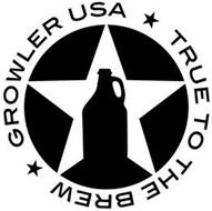 GROWLER USA TRUE TO THE BREW