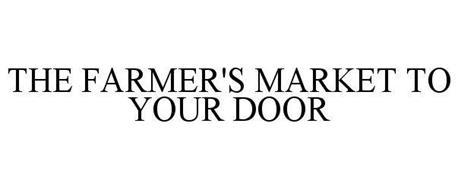 THE FARMER'S MARKET TO YOUR DOOR