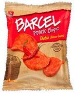 B BARCEL BARCEL POTATO CHIPS DIABLA FLAVOR BURST HOMESTYLE CRUNCH