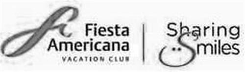 F FIESTA AMERICANA VACATION CLUB SHARING SMILES