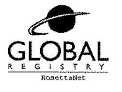 GLOBAL REGISTRY ROSETTANET