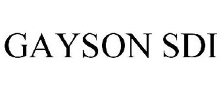 GAYSON SDI