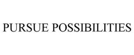 PURSUE POSSIBILITIES