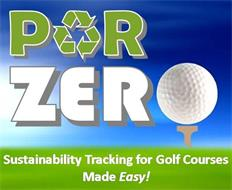 PAR ZERO SUSTAINABILITY TRACKING FOR GOLF COURSES MADE EASY!