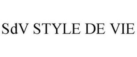 SDV STYLE DE VIE