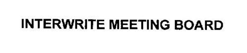 INTERWRITE MEETINGBOARD