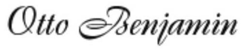 OTTO BENJAMIN