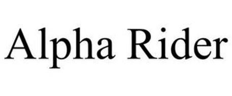 ALPHA RIDER