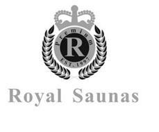 PREMIUM R EST. 1997 ROYAL SAUNAS