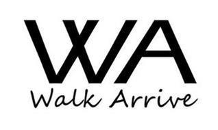 WA WALK ARRIVE