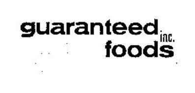 GUARANTEED FOODS INC.
