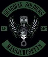 GUARDIAN SOLDIERS LE MC MASSACHUSETTS POLICE DEPT.