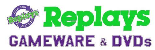 REPLAYS BUY, SELL & TRADE REPLAYS GAMEWARE & DVDS