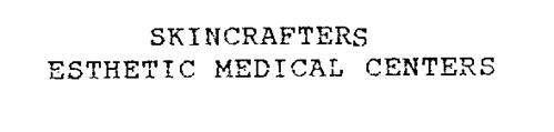 SKINCRAFTERS ESTHETIC MEDICAL CENTERS
