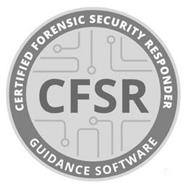 GUIDANCE SOFTWARE CFSR CERTIFIED FORENSIC SECURITY RESPONDER