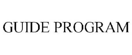 GUIDE PROGRAM