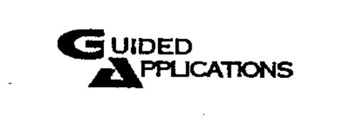 GUIDED APPLICATIONS