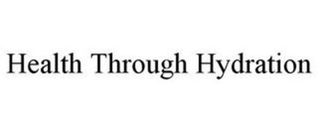 HEALTH THROUGH HYDRATION