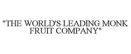 """THE WORLD'S LEADING MONK FRUIT COMPANY"""