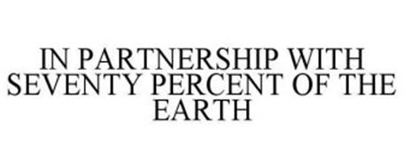 IN PARTNERSHIP WITH SEVENTY PERCENT OF THE EARTH