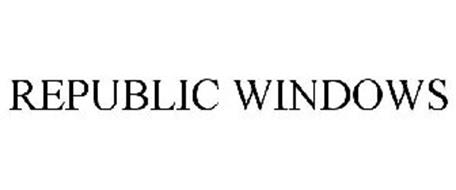 REPUBLIC WINDOWS