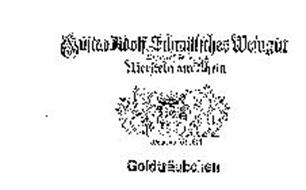 GOLDTRAUBCHEN GUSTAV ADOLF SCHMITTCHES WEINGUT WEINGROSCHTELLERIEN NIERSTEIN AM RHEIN WEINBAU FEIT 1618