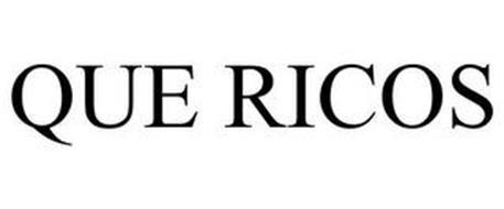 QUE RICOS