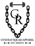 GR GYM RAT SQUAD APPAREL EST. MMXVI