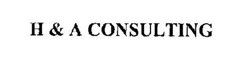 H & A CONSULTING